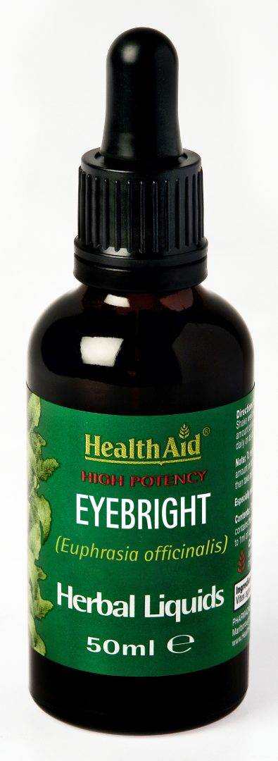 HealthAidEyebright (Euphrasia officinalis) 50ml Liquid - HealthAid